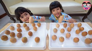 หนูยิ้มหนูแย้ม   เล่นทุบไข่ Kids Activities