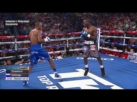 Crawford Puts On Show For Home Crowd - Third-round Knockouts Terence Crawford