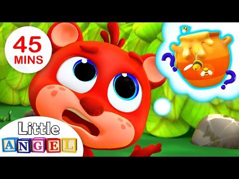 Where is Baby Bear's Honey? | Nursery Rhymes for Children | Kids Songs By Little Angel