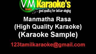 Manmatha Rasa - High Quality KARAOKE