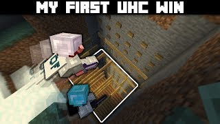 Getting my first Hypixel UHC win while trapping