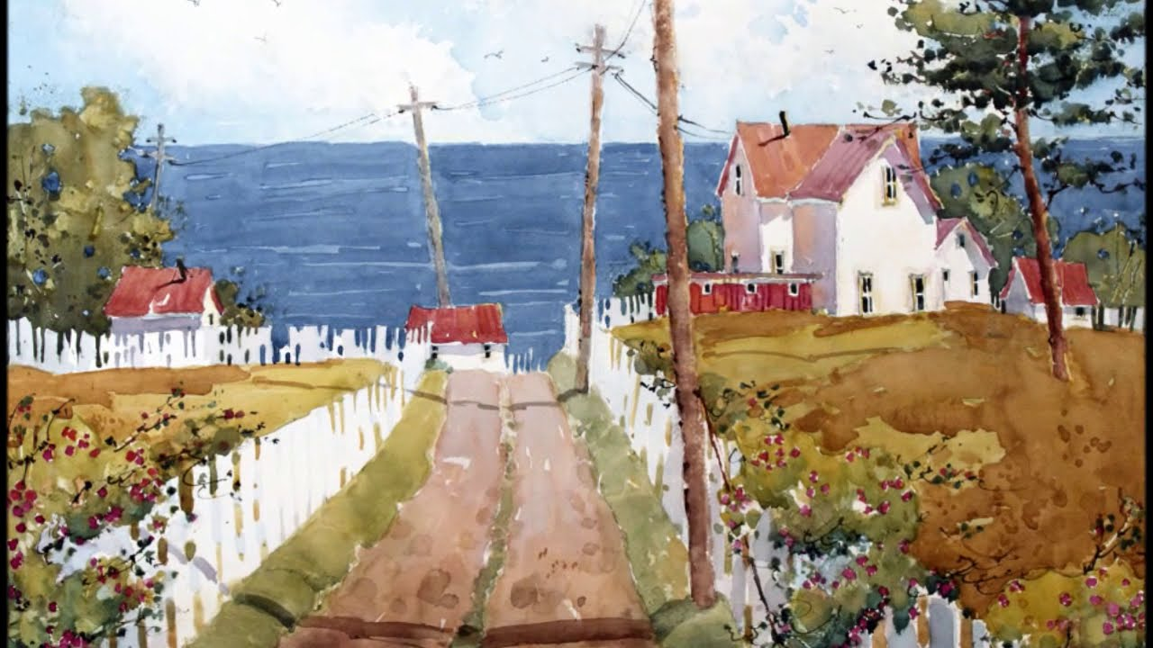 Joyce Hicks, AWS Original Paintings Of Beautiful Places   YouTube