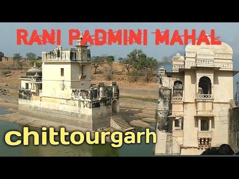Beautiful Rani padmavati ||inside The Queen  padmini place || Chittorgarh fort in Rajasthan India