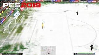 PES 2019 - NEW STADIUMS  | SNOW | Shadow Movement