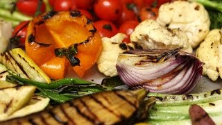 The Best Technique for Grilling Vegetables - Kitchen Conundrums with Thomas Joseph