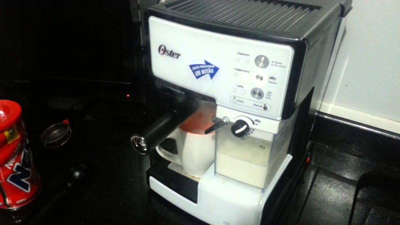 Oster Coffee Maker Stopped Working : Cafeteira de Expresso Oster Prima Latte: capuccino - YouTube