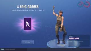 Fortnite NEW FREE EMOTE Boogie Down 10 HOURS