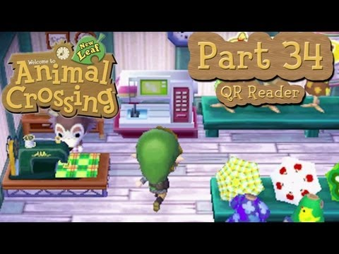 Animal Crossing: New Leaf - Part 34: Unlocking QR Reader From Abel Sisters!