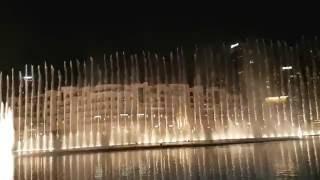Dubai Fountain Show - Burj Khalifa