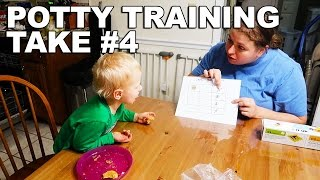 POTTY TRAINING TAKE 4 (1/10/17)