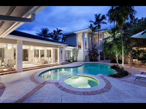 Tropical Style Estate | Luxury Homes | 3301 Northeast 16th Street Fort Lauderdale, Florida
