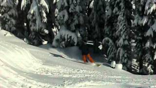 Rich going thru the bumps at the bottom of Corona Bowl Thumbnail