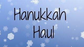 Hanukkah Haul 2013