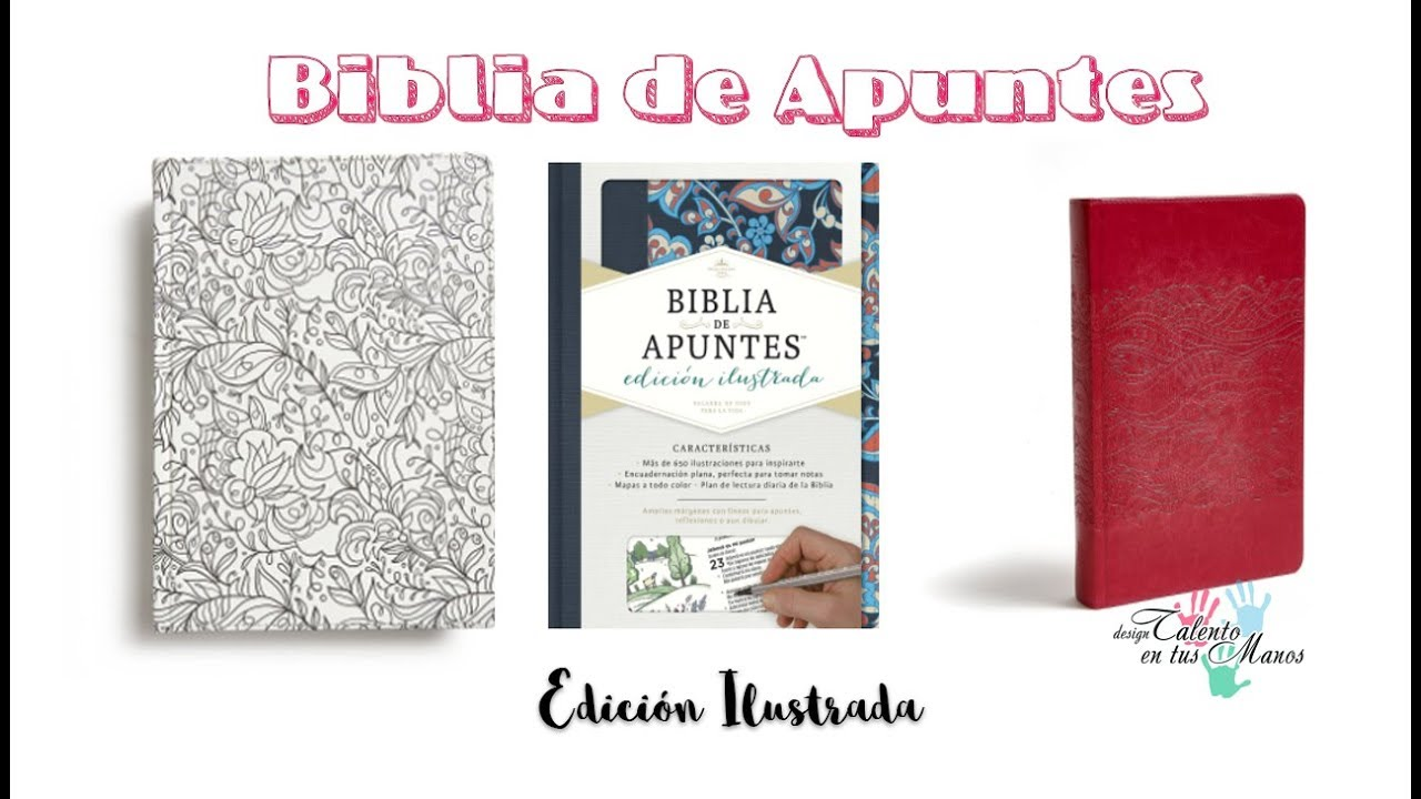 BIBLIA DE APUNTES - Edición Ilustrada - YouTube