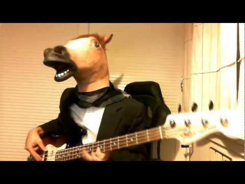 REEL BIG FISH - Beer | (HORSE MASK SPECIAL) | Bass Cover HD