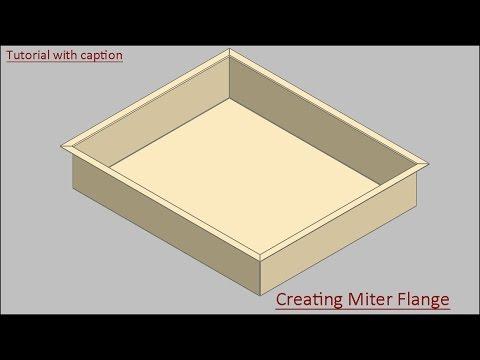 Full Download Solidworks Sheet Metal Miter Flange