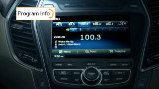 2014 Hyundai Santa Fe w/HD Radio™ Technology
