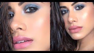 Super GLAM Makeup Tutorial - Smokey eye | HIGH-END products! | Malvika Sitlani