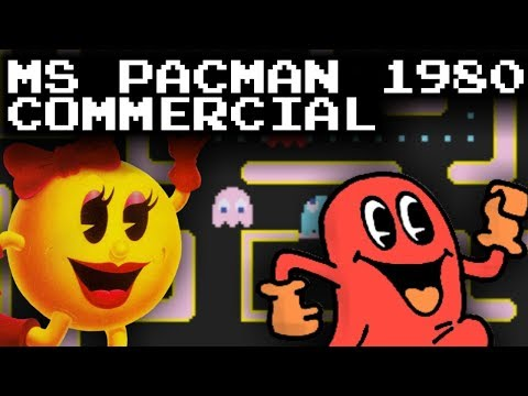 Ms Pac-Man 1980 Commercial
