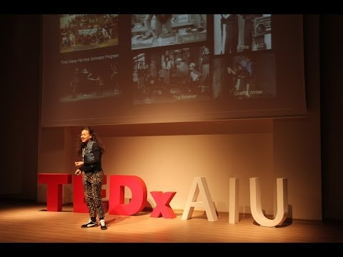 Breakdance -- a portal for intercultural dialogue and community: Kelsey Pyro Van Ert at TEDxAIU