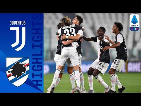 Juventus 2-0 Sampdoria   Ronaldo Scores as Juventus Claim Ninth Successive Title!   Serie A TIM