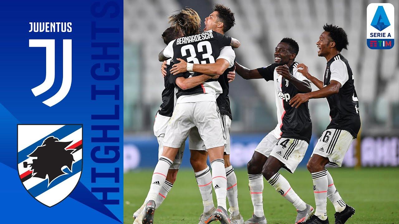 Juventus 2-0 Sampdoria | Ronaldo Scores as Juventus Claim Ninth Title! | Serie A TIM