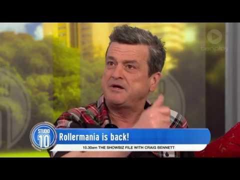 Les McKeown Talks Rollermania, Music & Family   Studio 10