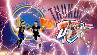 Golden State Warriors vs Oklahoma City Thunder | Full Game | March 3, 2016 | NBA 2K16 HD 60fps