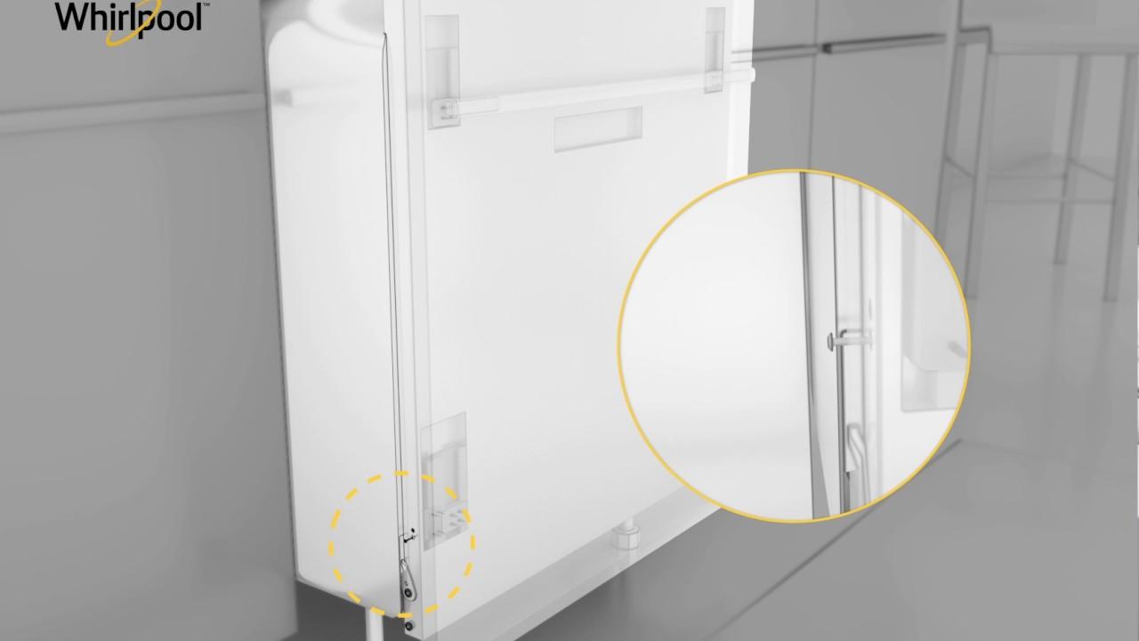 Whirlpool installazione nuove lavastoviglie zoccolo basso youtube