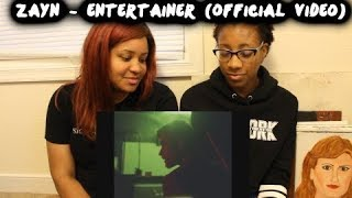 REACTION TO ZAYN - Entertainer (Official Video)