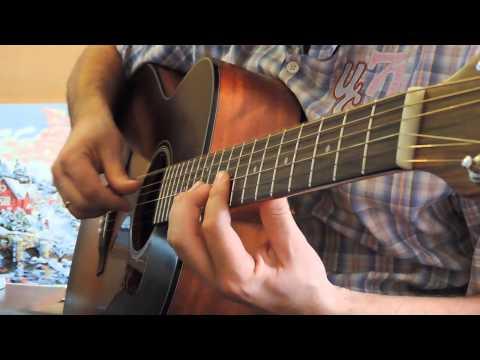 Простые мелодии на гитаре для начинающих - на одной струне