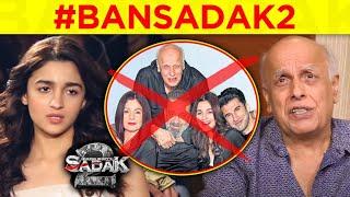 Alia Bhatt And Mahesh Bhatt INSULTED, BAN Sadak 2 Trends | Fans SUPPORT Sushant Singh Rajput