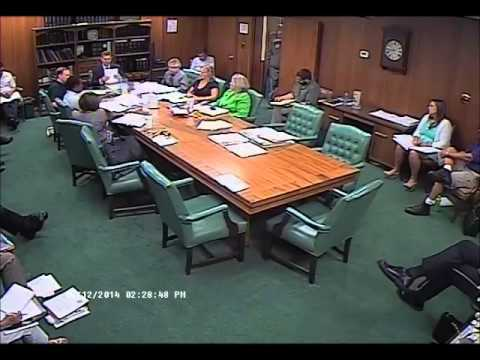 Special Meeting - May 12, 2014