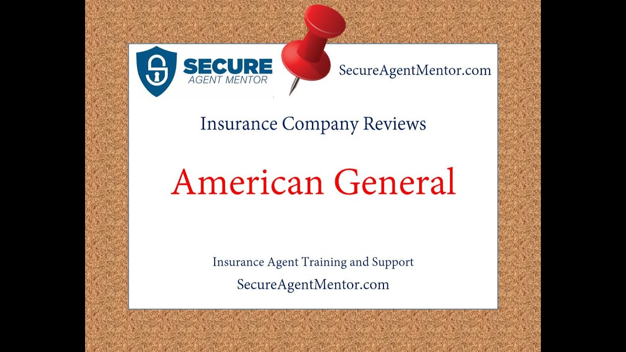 Insurance Company Reviews American General Life Youtube
