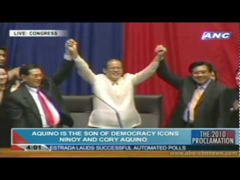 "[HQ] The 2010 Proclamation - Benigno ""Noynoy"" Aquino III & Jejomar ""Jojo"" Binay (6/9/2010)"