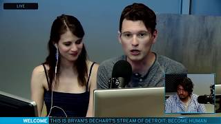 Bryan Dechart aka Connor Plays Detroit: Become Human w/ Amelia Rose Blaire - Full Stream #2 thumbnail