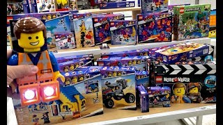Lego Movie 2 Toys Hunt - The Ultimate Toy Hunt - We Found Almost ALL the Lego Movie 2 Playsets