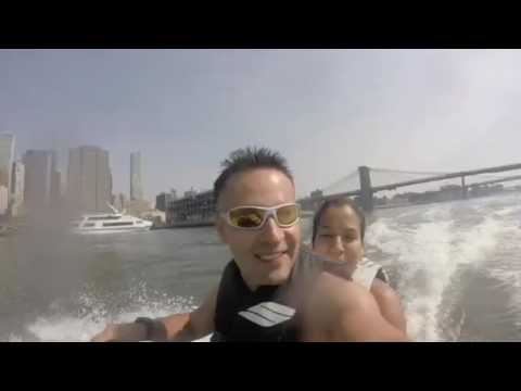 Jet ski tour around Manhattan