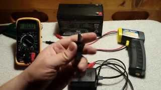 Cheap Sealed Lead Acid (SLA) Battery Charger From Ebay Review (And Blowing It Up)
