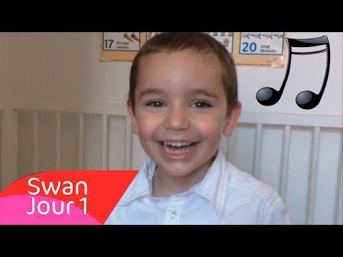 Swan 3 Ans Chante JOUR 1 De Louane (cover)