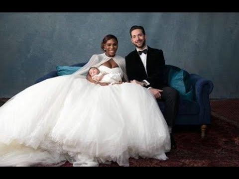 SERENA WILLIAMS AND ALEXIS OHANIAN MARRIAGE