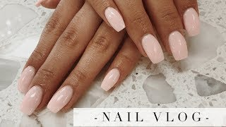 Come With Me To Get My Dipping Powder Nails | Inmyseams