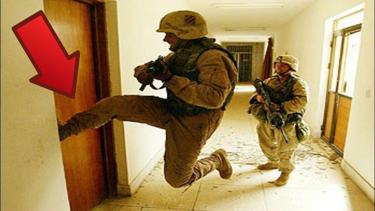 & HE KICKED DOWN MY DOOR!!! - YouTube