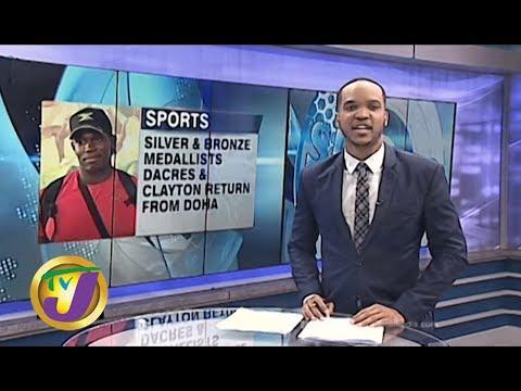 TVJ Sports: History Making JA Athletes Return From Doha - October 7 2019
