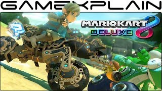 Mario Kart 8 Deluxe - Playable Breath of the Wild Link & Master Cycle Zero Trailer! (Free Update!)