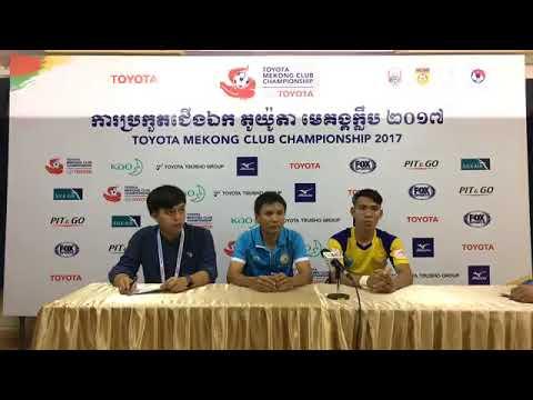 TMCC 2017 Round 1 (2nd Leg) Post-match Press Conference - Sanna Khanh Hoa BVN FC