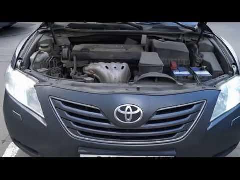 Тойота королла замена аккумулятора видео