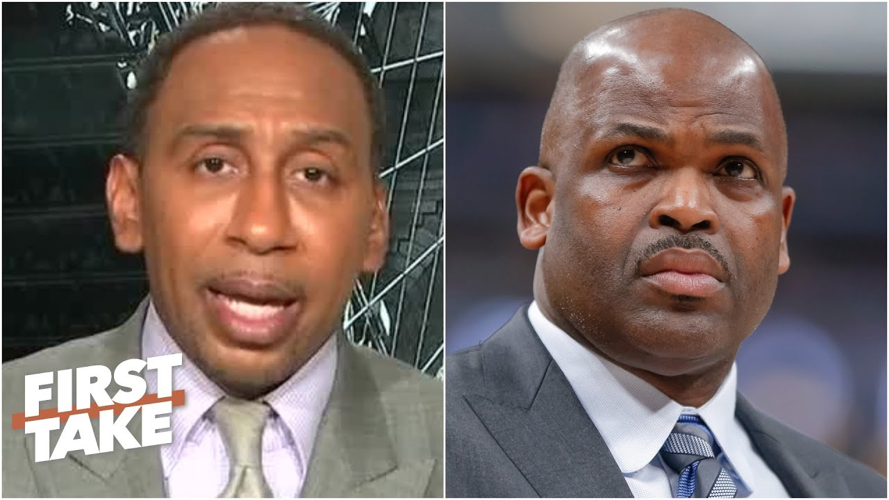 Stephen A. reacts to the Pacers firing head coach Nate McMillan | First Take