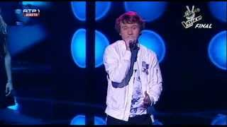 "Diogo Garcia - ""You are not alone"" - Final - The Voice Kids"