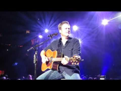 "Blake Shelton ""Austin"" Live @ Madison Square Garden"